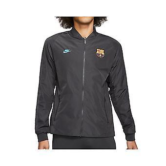 נייק ברצלונה CI1310070 כדורגל כל השנה מעילים גברים