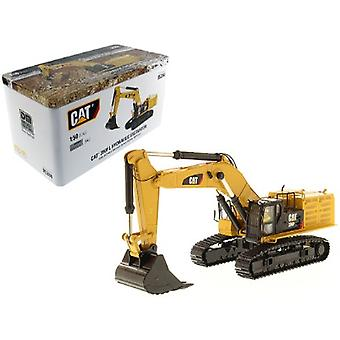 CAT Caterpillar 390F LME Hydraulic Tracked Excavator with Operator High Line Series 1/50 Diecast Model par Diecast Masters
