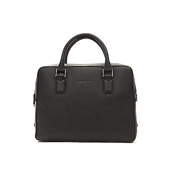 Briefcase Black Trussardi man