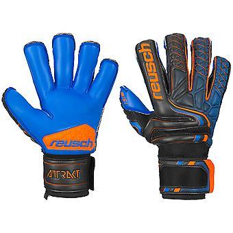 Reusch Attrakt S1 Evolution Finger Support Goalkeeper Gloves Size