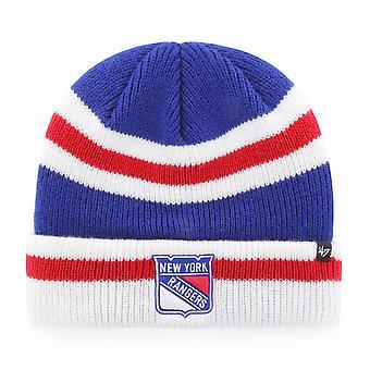 47 Brand Knit Beanie - SHORTSIDE New York Rangers royal