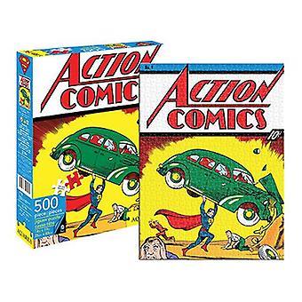 Dc comics superman comic cover 500pc puzzle