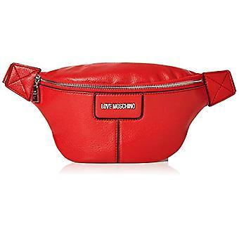 Love Moschino Bag Pebble Grain Pu Women's Shoulder (Red) 16x32x8 cm (W x H x L)