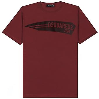 Dsquared2 DSquared2 1964 طباعة شعار تي شيرت