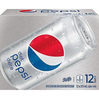 Diète Pepsi-( 355 Ml X 12 Cans )