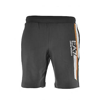 EA7 EA7 Black Jersey Shorts