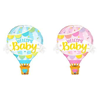 Qualatex 42 Inch Supershape Foil Welcome Baby Balloon