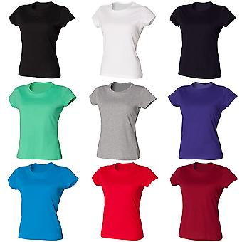 Skinni Fit Ladies/Womens Favourite Longer Length T-Shirt
