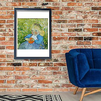 Vincent Van Gogh - Child with an Orange, 1890 Poster Print Giclee