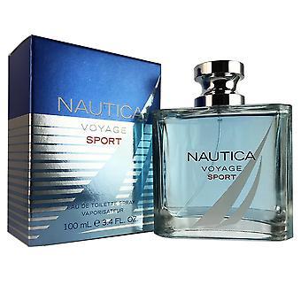 Nautica voyage sport for men 3.4 oz eau de toilette spray