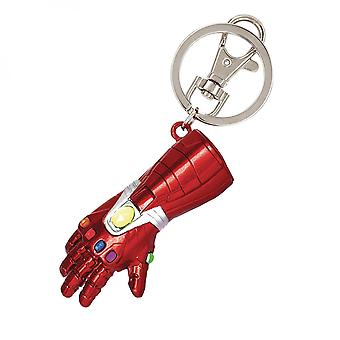 Iron Man Gauntlet Pewter avaimenperä
