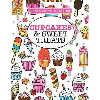 Gorgeous Colouring For Girls  Cupcakes  Sweet Treats by James & Elizabeth