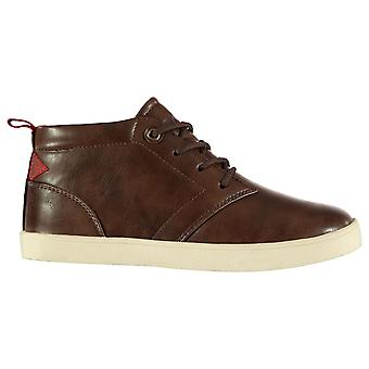 Soviet Kids Whitehall Mid Chukka Boots Lace Up Contrast Sole Shoes Child Boys