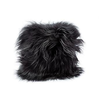 Norvek Luxury Natural Icelandic Sheepskin Cushion - Long Hair - Square 35x35cm # 9010-100