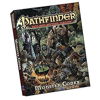 Pathfinder Roleplaying Game - Monster Codex Pocket Edition by Jason Bu