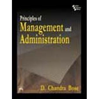 Principles of Management and Administration by Chandra Bose - 9788120