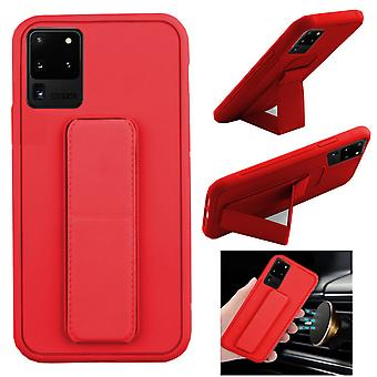 BackCover Grip for Samsung S20 Red