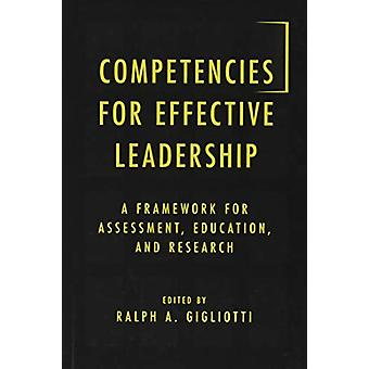 Competencies for Effective Leadership - A Framework for Assessment - E