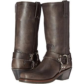 Frye Women's Shoes 77300 Leather Square Toe Knee High Motorcycle Boots
