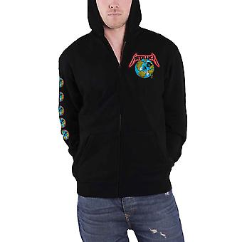Metallica Hoodie Executioner The Unforgiven new Official Mens Black Zipped
