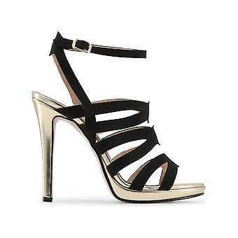 Made in Italia - shoes - sandal - CLEO_NERO_MIRROR - ladies - black,gold - 39