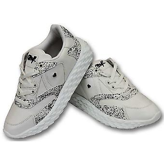 Shoes - Touch White- White
