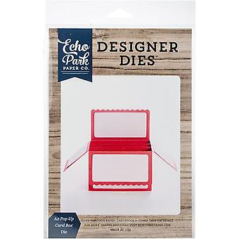 Echo Park 3D Card Box Set-A2 Pop Up Card Box