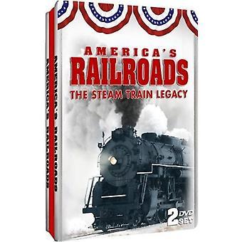 America's Railroads: Steam Train Legacy [DVD] USA import
