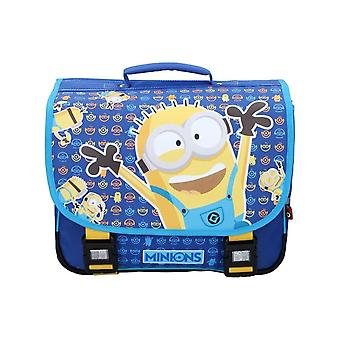 Minions Check It Out School Messenger Backpack
