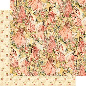 Graphic 45 Pretty in Pink 12x12 Inch Paper Pack