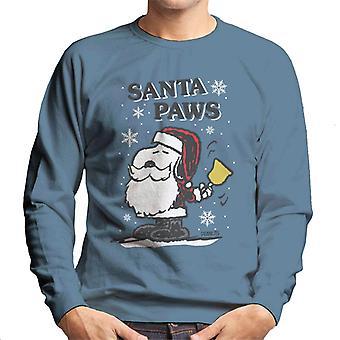 Jordnötter snoopy Santa tassar Christmas män ' s tröja