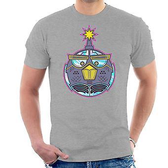 Vred Fugle Mech Bird Bomb Mænd's T-shirt