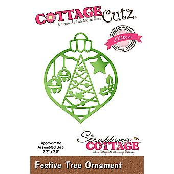 Scrapping Cottage Festive Tree Ornament (Elites) (CCE-512)