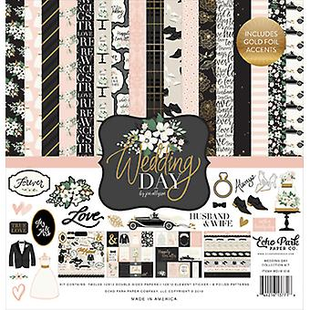 Echo Park Wedding Day 12x12 Inch Collection Kit
