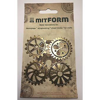 Mitform Gear 40 Metal Embellishments