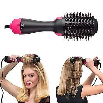 2 In 1 Hair Straightener Curler Comb Professional Hair Dryer Brush - Electric Blow Dryer