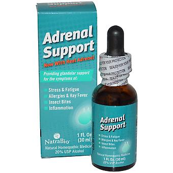 NatraBio, Adrenal Support, 1 fl oz (30 ml)