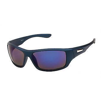 Sunglasses Unisex Black-Blue (20-263)