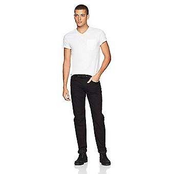 Brand - Goodthreads Men's Lightweight Slub V-Neck Pocket T-Shirt, Brig...