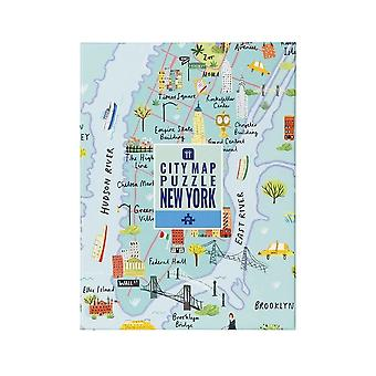 New York Map Jigsaw Puzzle 250 pièces