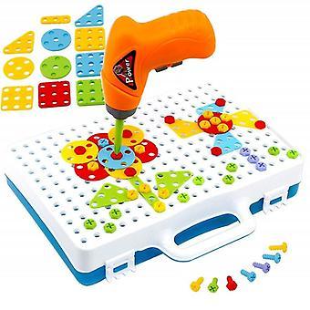 Children Drill Puzzle Construction Education Puzzle