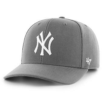 47 Brand Low Profile Cap - ZONE New York Yankees charcoal