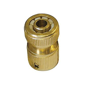 Faithfull Brass Female Hose Connector 12.5mm (1/2in) FAIHOSEFC