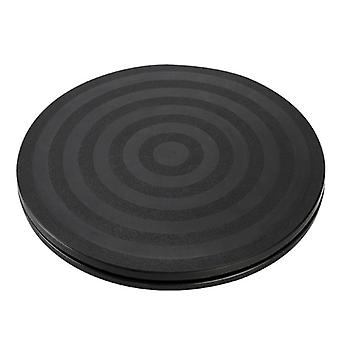 "8"" Round Bonsai Turntable Rotating Plate- Wheel Revolving Home Kitchen Display"