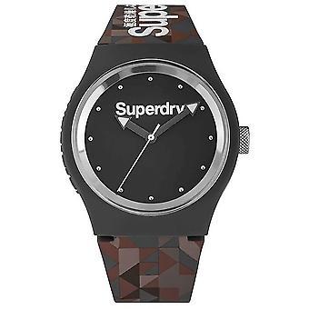 Superdry - ساعة اليد - الرجال - نمط الحضرية كامو - SYG005ER