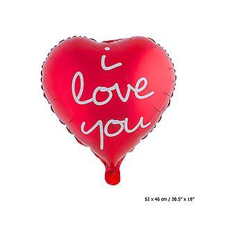 Balloon and balloon accessories  Folie Ballon I love you (52*46)