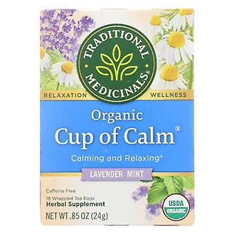 Traditional Medicinals Teas Organic Cup of Calm, 16 Bags