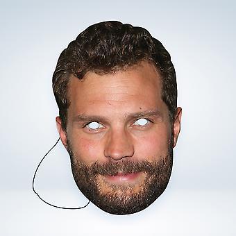 Máscara-arade Jamie Dornan Celebridades Máscara de Cara de Fiesta