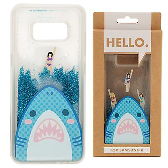 Samsung 8 Phone Case - Shark Jaws Design