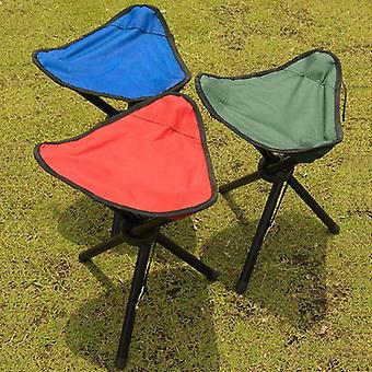 Outdoor Fishing Chair Portable Tripod Stool Folding Chair Camping